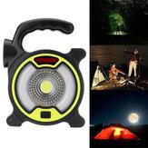150LM COB Work Light 4 Mode USB Перезаряжаемый прожектор 200m На открытом воздухе Рыбалка Кемпинг Light
