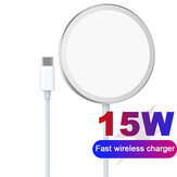 HOCO CW30 Pro 15W MagSafe Magnetic Wireless Charger for iPhone 12/12 Mini/12 Pro Max for for Samsung Galaxy Note S20 ultra Huawei Mate40