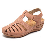 LOSTISY Women Lightweight Casual Shoes Hollow Out Soft Sole Sandals
