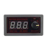 Controlador de velocidad ZK-BMG motor BMG DC motor Controlador de control de velocidad 60V 12A 500W