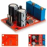 10pcs NE555 Frequência de pulso Ciclo de funcionamento Módulo ajustável Gerador de sinal de onda quadrada Motorista de motor passo a passo