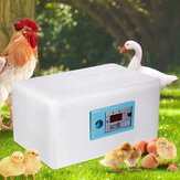 Digital Temperature Control Egg Incubator Poultry Incubator Brooder Hatchery Egg Hatcher for Chicken Duck Bird Pigeon