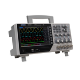 Hantek DSO4204B رقمي راسم تخزين 4 قنوات عرض النطاق الترددي 200 ميجا هرتز 7 بوصة DSO4204B 1GSa / s سجل الطول 64 كيلو