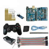 Wireless Controller   Starter Kit UNO-R3 Board + Active Buzzer for Smart Robot Tank Car Chass