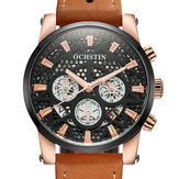OCHSTIN GQ067B Working-dials Calendar Creative Wrist Watch