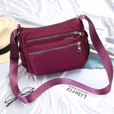 Mujer Oxford Leisure Travel Crossbody Bolsa Hombro Bolsa