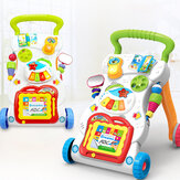 Baby Toys Learning Walker Music Stand Multi Function Play Center Toddler Educational Toys for Early Childhood