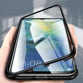 Bakeey360°ManyetikAdsorpsiyonÇevirme Metal Huawei Mate20 için Temperli Cam Koruyucu Kılıf