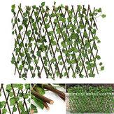 Tuin Patio Yard Uitbreidbaar Kunstmatige Ivy Leaf Fence Decoratiescherm