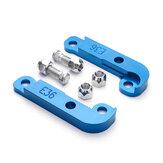 CNC Adattatore per pneumatici Angolo di sterzata crescente 25% -30% Deriva serratura Kit per BMW E36 M3 Blu