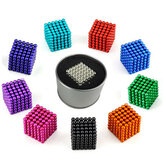 1000PCS 3mm Cube Buck Ball Mixcolour Magnetisch speelgoed Neodymium N35 Magnet Indoor Toys