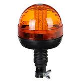LED lampeggiante rotante ambra lampeggiante faro camion camion spia DC12-24V IP65