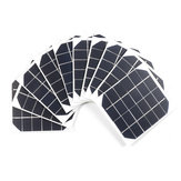 10Pcs/Pack 6v 2w 120*110 High Efficiency Monocrystalline Solar Cell Panel