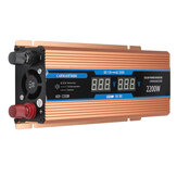 12V bis 220V Wechselrichter intelligente LCD Dual Display Solar Power Inverter Peak 2200 Watt 1200 Watt 500 Watt