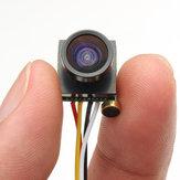 600TVL 1.8mm 1/4 CMOS Lente Grande Angular de 120 Graus FPV Câmera PAL/NTSC 3.7-5V para RC Drone FPV Corrida