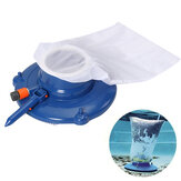 Pool Vacuum Cleaner Suction Head With Mesh Bag Brush Cleaning Tool Kit 15''