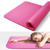 Kaload185x80cmkaymazköpükYoga paspaslar Fitnes spor Gym egzersiz pedleri katlanabilir portatif halı paspas