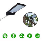 36LED Garden Solar Powered Wall Light Wodoodporna PIR Motion Sensor Walkway Outdoor Lamp
