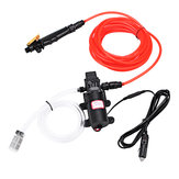 100W 1.0Mpa 12/24V High Electric Pressure Car Washer Wash Pump Water Sprayer Kit
