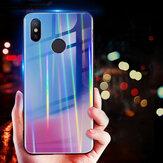 Bakeey الليزر التدرج بلينغ الزجاج المقسى حالة وقائية للصدمات ل Xiaomi Mi8 Mi8 6.21 بوصة غير الأصلي
