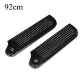 Dynam 92mm Carbon Fiber Tail Blade for 550 Helicopter Pro.0921