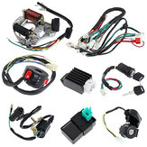 50cc 70cc 90cc 110cc CDI Wire Harness Majelis Wiring Kit ATV Electric Mulai QUAD