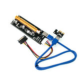 WiredLink VER006 PCI Card PCI-E 1X To 16X USB3.0 Graphics Card Extension Adapter BTC/ETH For Desktop PC Computer