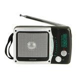 TECSUN R208 Dwuzakresowy przenośny przenośny kieszonkowy AM FM Radio stacjonarne z baterią w rozmiarze D Odbiornik cyfrowy o wysokiej czułości