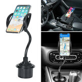Universal Water Cup 360° Adjustable Mount Car Phone Holder Stand Cradle Bracket For Cell Phone 4.7-6.5 inches
