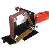 Drillproزاويةطاحونةحزامساندرمرفق معدن خشب صنفرة حزام سير محول استخدام 5/8 بوصة سنّاخ محور دوران جلّاخ جلخ