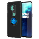 Bakeey for OnePlus 8 Pro Case 360º Rotating Magnetic Ring Holder Soft Silicone Shockproof Protective Case Back Cover
