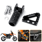 Rear Brake Pedals Step Plate+Gear Shifter Shift Lever Tip For KTM SX EXC XCF SMC