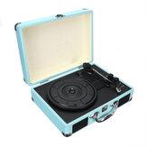 B32603 Bluetooth Sem Fio 3 Velocidade Vinyl Record Player Turntable Retro 2 Falantes Caso