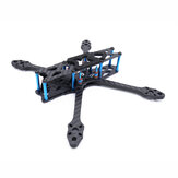 Strech X5 Freestyle 220 mm Distancia entre ejes 5,5 mm Brazo 5 Inch FPV Racing Frame Kit 108g 30.5x30.5 / 20x20mm para RC Drone