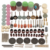 161 pcs Mini Bor Multi Rotary Alat Aksesoris Set Grinding Polishing Alat Kit untuk Dremel
