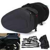36-58L Motorcycle Motor Bike Saddlebags Soft Saddle Bolsa Side Seat Luggage