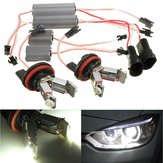 LED Angel Eyes Halo Ringlicht H8 Birnen Fehler Free For BMW EE90 E91 E92 E93