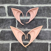 Mysterious Angel Elf Ears hada Cosplay Accesorios LARP Halloween Party Látex Soft Pointed Prosthetic False ears