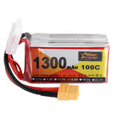 ZOP Power 14.8V 1300mAh 100C 4S Lipo Batteria XT60 Plug per RC Racing Drone