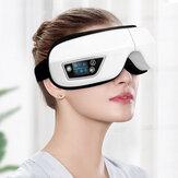 Bakeey JC05 Katlanabilir USB 1200mAh bluetooth 6D Akıllı Hava Yastığı Titreşim Göz Masajı Uyku Kulaklık Göz Bakımı Sıcak Sıkıştırma Gözlükler