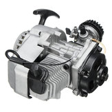 49cc 2-Stroke Pull Start Engine Motor For Pocket Mini Dirt Bike ATV Scooter