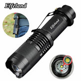 Elfeland Telescopic XPE Q5 300LM 7w 3 Modes + Zoomable LED Flashlight