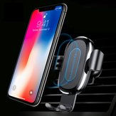 Baseus WXYL-B09 Fast 10W Qi Supporto per caricabatterie wireless per iPhone X 8 Plus S8 + S9