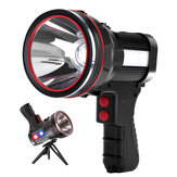 6000 Lumens Rechargeable Strong Spotlight Spot Lights Handheld Large Flashlight Super Bright Outdoor Camping Searchlight
