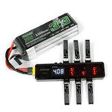 AOKoda CX605 CX610 6CH DC / XT60 / USB Batterie Ladegerät für 3.7V 1S Lipo Batterie