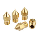 5 PCS 3mm / 0.2mm Tembaga MK8 Thread Extruder Nozzle Untuk 3D Printer