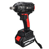 VIOLEWORKS 288VF 1/2Inch 520NM Max. Brushless Impact Wrench Li-ion Electric Wrench W/ 2/1/0 Battery Also For Makita Battery