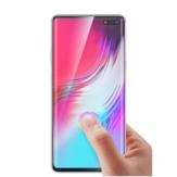 Bakeey3dمنحنيحافةبالموجاتفوق الصوتية بصمة فتح الزجاج المقسى شاشة حامي ل Samsung غالاكسي S10 5 جرام 2019