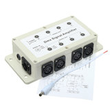 DMX512 LED Signal Splitter Amplifier Distributor 1 Way in 8-Channel Output Signal Amplifier