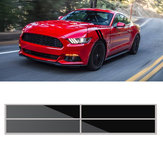 56x10cm Guarda-lamas Hash Stripes Decals Grafismo Car Vinyl sticker for FORD MUSTANG 2015-2016